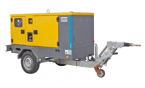 generátor Atlas Copco QES 40